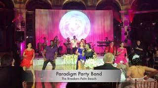 Paradigm Party Band Performs at The Breakers Palm Beach!