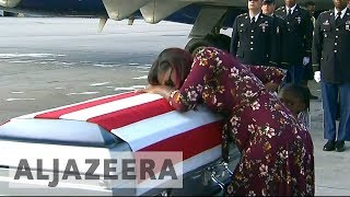 Trump denies offending widow of soldier killed in Niger