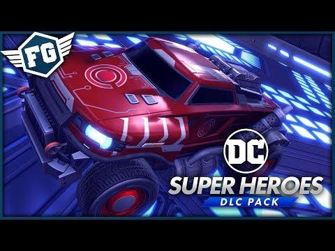 Rocket League - DC Super Heroes DLC #2