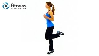 HIIT Workout for Fat Loss - FitnessBlender.com's At Home HIIT Workout Program for Weight Loss by FitnessBlender