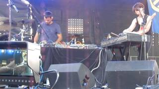Factory Floor - Fall Back - Live at Pitchfork 2014