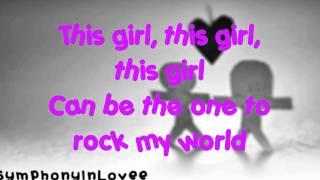 Hannah Montana ft. Iyaz: This Boy, That Girl (Lyrics On Screen)