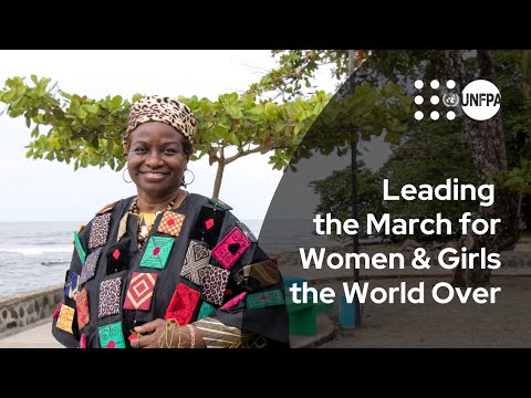 Leading the March for Women and Girls the World Over