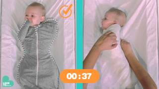 Stage 1 | Swaddling | SWADDLE UP™ vs. Traditional Wrapping