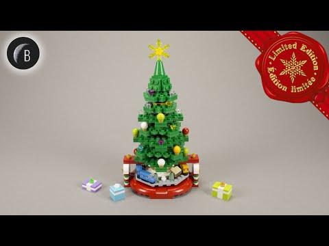 Vidéo LEGO Saisonnier 40338 : Le sapin de Noël