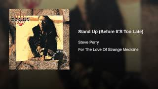 Stand Up (Before It'S Too Late)
