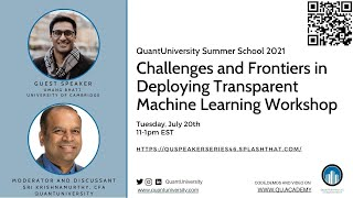 Challenges and Frontiers in Deploying Transparent Machine Learning