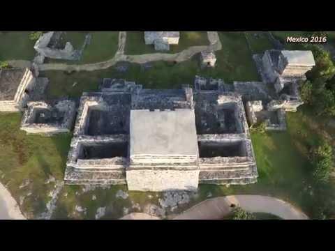 Mexico – Tulum – Mayan ruins, Drone – Phantom 3 Pro, 2016