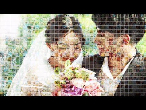 圧倒的な映像美☆結婚式ムービーを制作します たくさんの写真を使いたい!感動のオープニングムービー! イメージ1