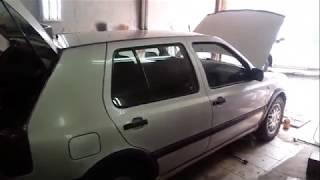 VW Golf 3 - замена глушителя ( штанов )