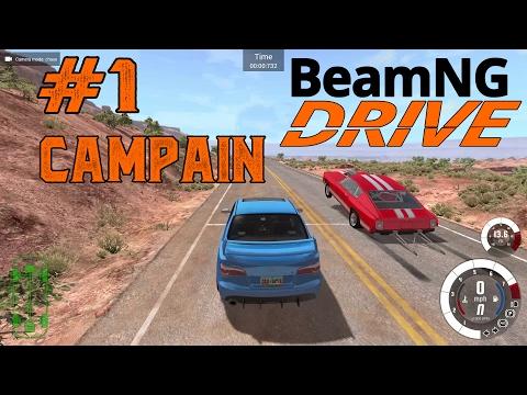 beamng drive прохождение #1
