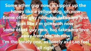 Some other guy with lyrics(The Beatles)