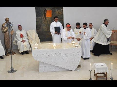 Posveta crkve Sv. Ignacija Lojolskog na Grbavici