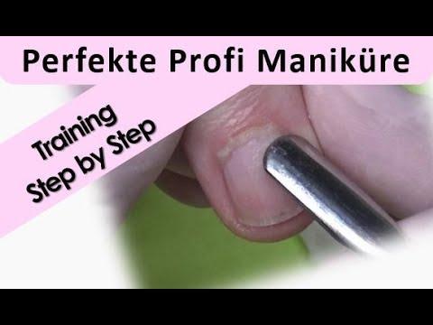 Profi Maniküre Step by Step Echtzeit
