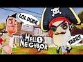 HELLO BIG HEAD PIRATE NEIGHBOR | Hello Neighbor Mod