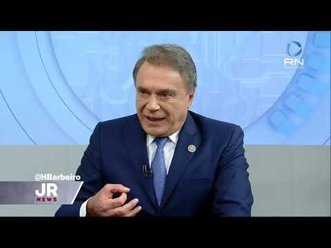 Alvaro Dias é o entrevistado da Record TV - Gente de Opinião