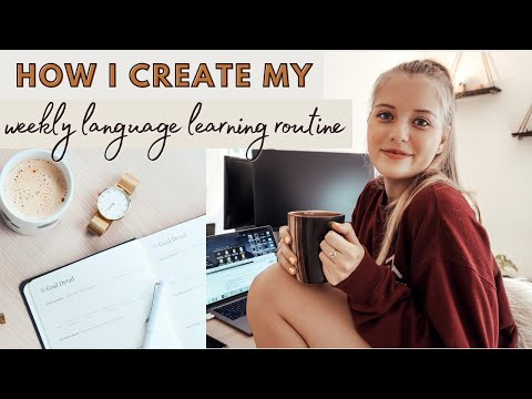 How to Create a Language Study Routine | Learning a New Language at Home Study Plan