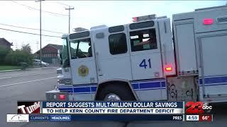 Multi-million dollar savings plan suggested to KCFD