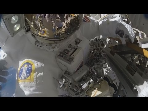 Новости МКС: 9-16 апреля | Космонавты вернулись домой! видео