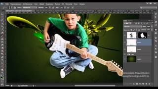 Создание световых эффектов в Фотошоп