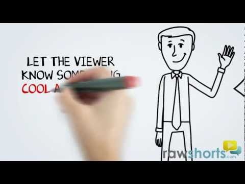 Animated Whiteboard, Video Scribing Template