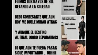 Alex Ubago Ft Luis Fonsi - Cuenta Conmigo (LETRA) HD