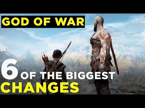 God of War: The 6 Biggest Changes
