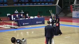 결승 양재균 vs 이마루 [2021 검도왕 고등부 | 검도V]