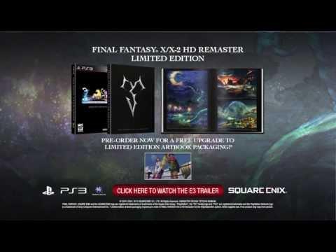 Final Fantasy X/X-2 Remaster Gets gamescom Trailer