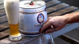 Party Beer Keg - How to open a beer keg and pour a perfect beer!