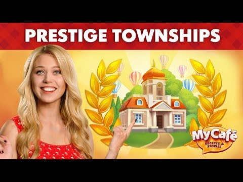 My Cafe Update 2018.12 Announcement: Prestige towns!
