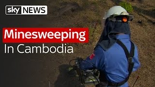 Minesweeping In Cambodia
