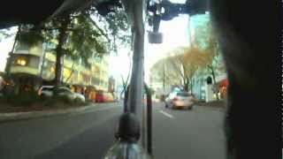 preview picture of video 'Petone to Wellington CBD - Seat-post camera'