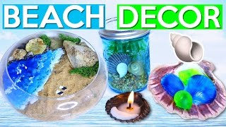 DIY BEACH DECOR!