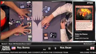 Pro Tour Magic 2015 - Round11 (Draft) - Timothee Simonot vs. Craig Wescoe