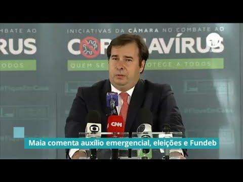 Maia diz que proposta do adiamento das eleições pode ser votada nesta quarta - 30/06/20