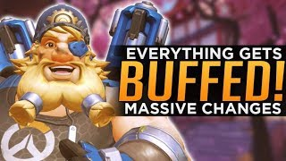 Overwatch: EVERYTHING Gets BUFFED! - MASSIVE Changes!