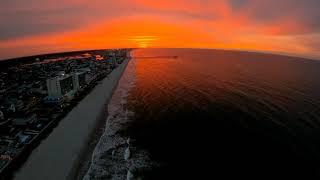 Dji Fpv Drone Fire Sunrise