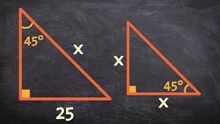 How To Determine The Missing Hypotenuse Using Special Right Triangles