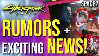 Cyberpunk 2077 News - Space Travel & Social Hubs!