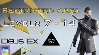 Deus Ex GO: Chapter 2 Restricted Area Levels 7 8 9 10 11 12 13 14 Gold Walkthrough (SQUARE ENIX)