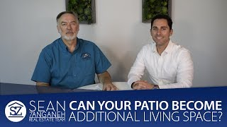 How To Convert Covered Patios Into Additional Living Space