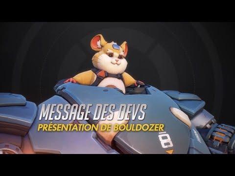 Message des devs : présentation de Bouldozer (VOST) de Overwatch