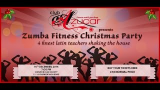 preview picture of video 'The Trip Zumba with @ Club Azucar Fitness Xmas Party 2014'