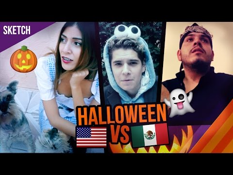 Halloween en México VS Estados Unidos