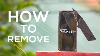 How To Remove Whitestone Dome Screen Protector on Galaxy S9/Plus!