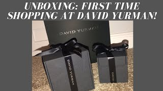 Car Unboxing: First Time Shopping At David Yurman!