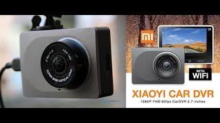 Отличный  видеорегистратор Xiaomi Yi Car DVR  WiFi 60Fps! Полный обзор и примеры видео!