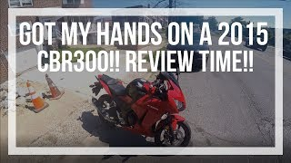 2015 CBR300r review from a 600 cc owner💯🔥✔👌 || best beginner bike??