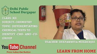 CLASS XII   Teacher - DEEPANWITA MUKHERJEE   CHEMISTRY   LAB   DPS DURGAPUR